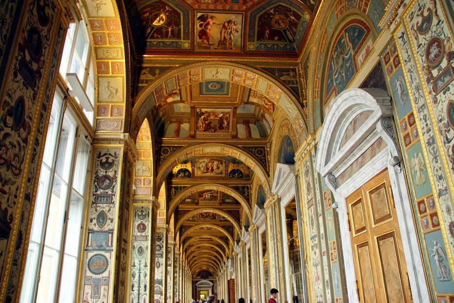 The Raphael loggias, State Hermitage, St.Petersburg