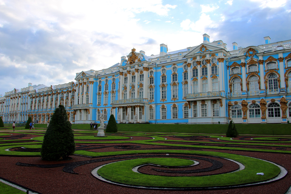 Catherine palace, Tsarskoye Selo. St.Petersburg palaces and parks