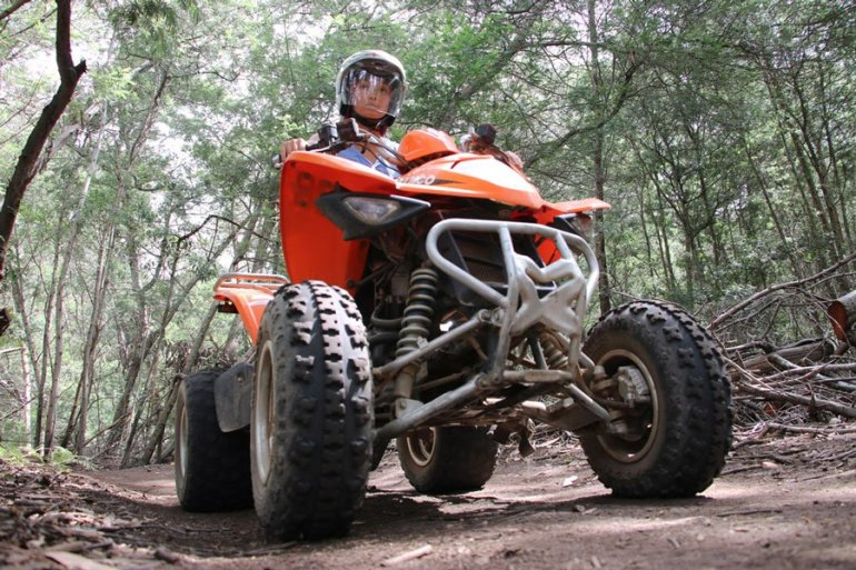 Arabella quad bike activity stingy nomads