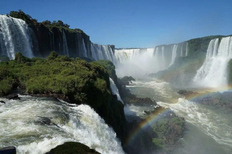 Iguazu waterfalls South America