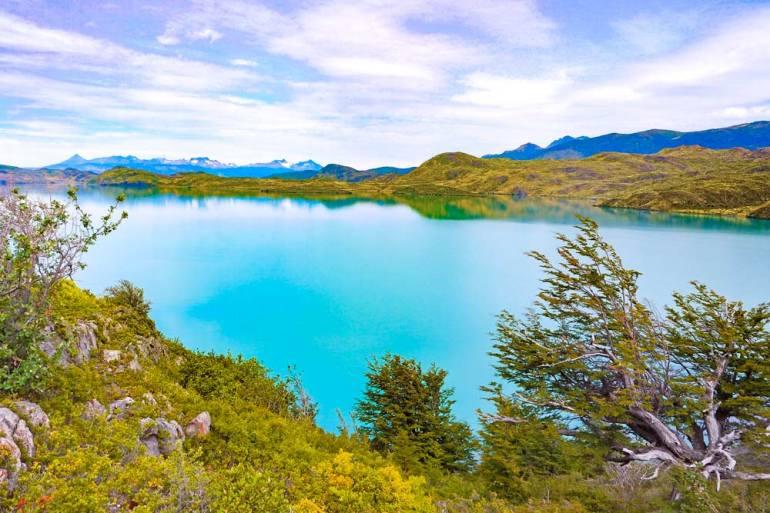 Pehoe Lake, W'trek, Torres del Paine