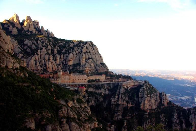 Montserrat monastery, Camino Catalán of Santiago