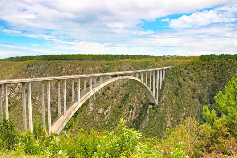 The Bloukrans Bridges, Garden Route, South Africa