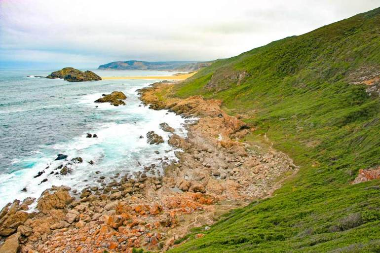 The scenery on the circuit hike in Robberg Nature Reserve, Plettenberg Bay