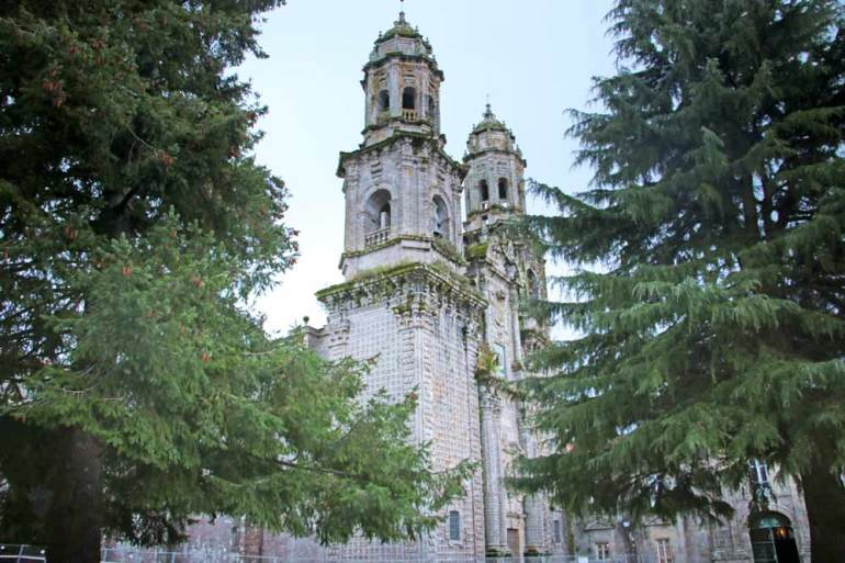 The Monastery of Sobrado dos Monxes one of the highlights of the last 100 km on the Northern Camino de Santiago