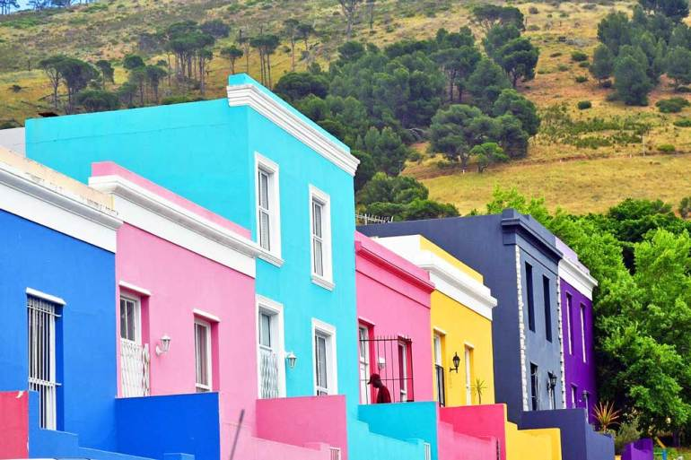 Bo Kaap in Cape Town is a must visit on a South Africa Honeymoon