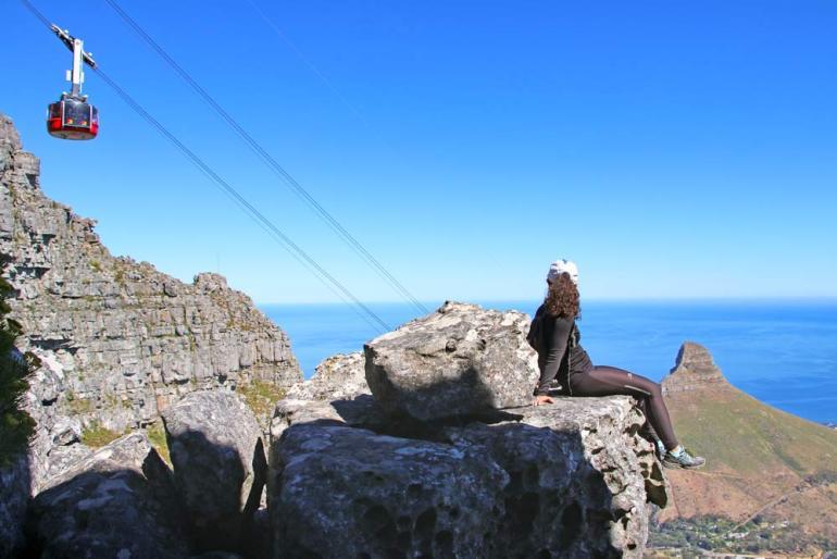 on your South Africa Honeymoon climb Table Mountain!