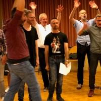Der «schmaz» - der schwule Männerchor aus Zürich - vor grosser Entscheidung