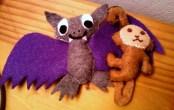 bat and monkey