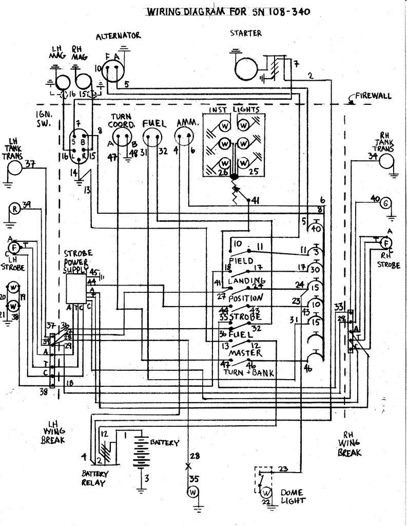stinson wiring diagram