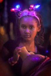 Girl with the Glowing Tiara