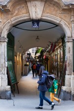Passage at 5 Wollzeile, lined with shops