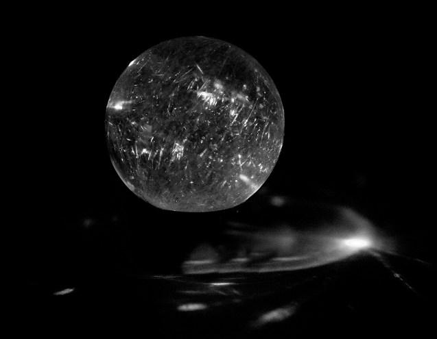 Riutilated Quartz Sphere #1