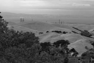 San Francisco Bay from Sunol Wilderness