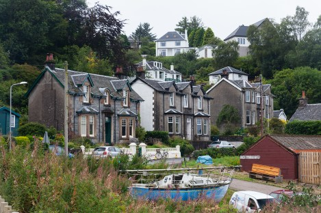 Some houses in Oban