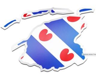 Friesland sticker.nl