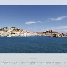 Februarblatt Kalender 2015 –Elba