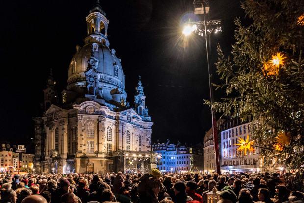Christversper vor der Frauenkirche, 2013