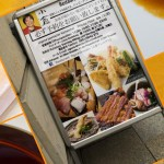 …und zum Dessert wieder Sushi