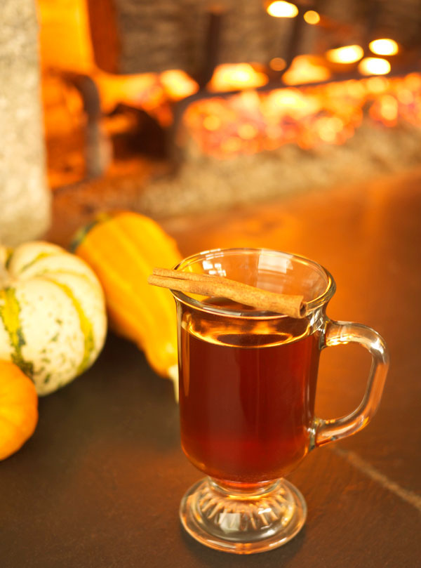 Honey Vanilla Hot Toddy // stirandstrain.com