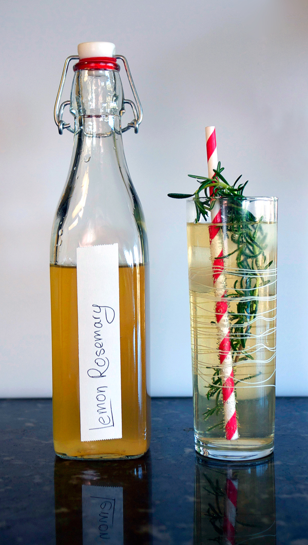 Meyer Lemon Rosemary Syrup // StirAndStrain.com