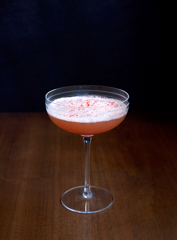 The Angelique Cocktail // stirandstrain.com