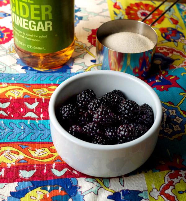 Mixology Monday Blackberry Shrub // stirandstrain.com