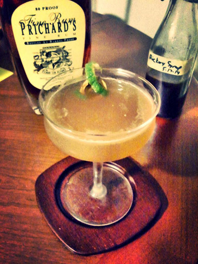 Hickory Daiquiri Cocktail MxMo Roundup // stirandstrain.com