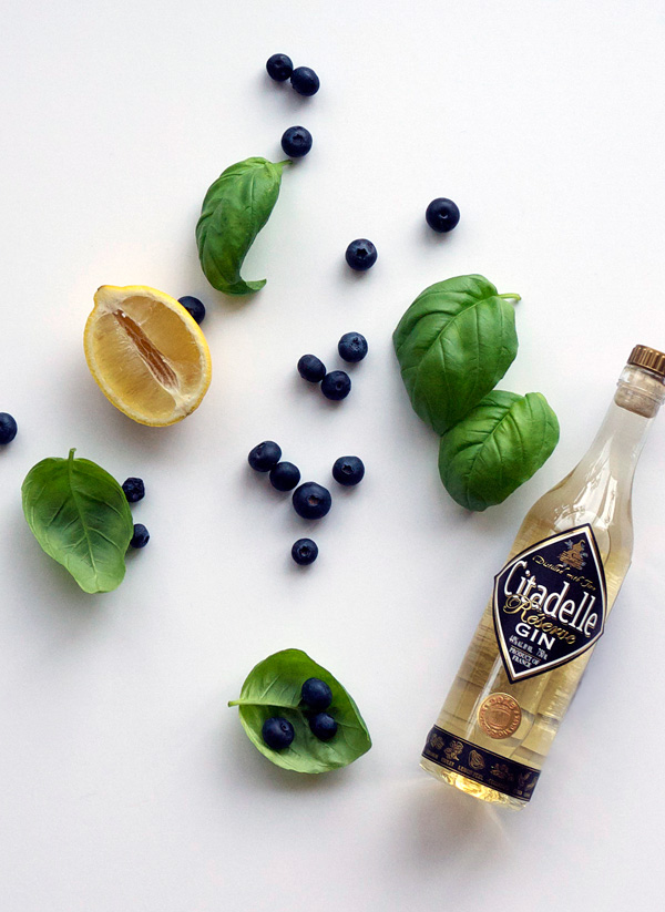 Blueberry Basil Lemon Smash (and some notes on blogging) // stirandstrain.com