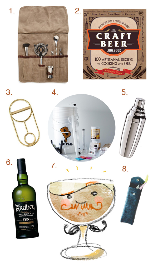 Father's Day Gift Guide 2014 // stirandstrain.com