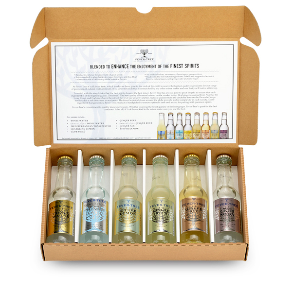 Fever-tree 6 Pack Sampler Giveaway // stirandstrain.com