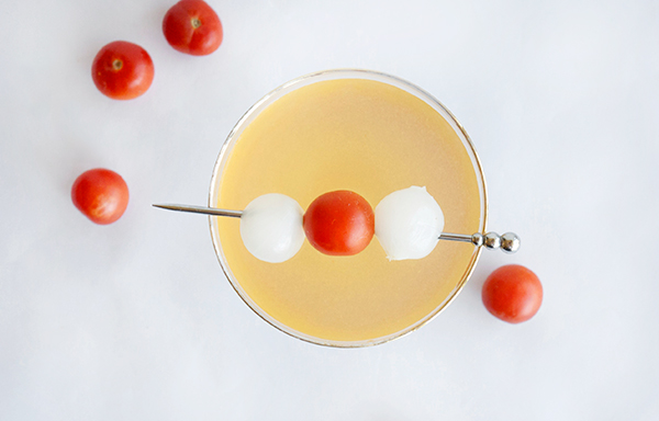Absolut Spicy Tomato Water Cocktail // stirandstrain.com