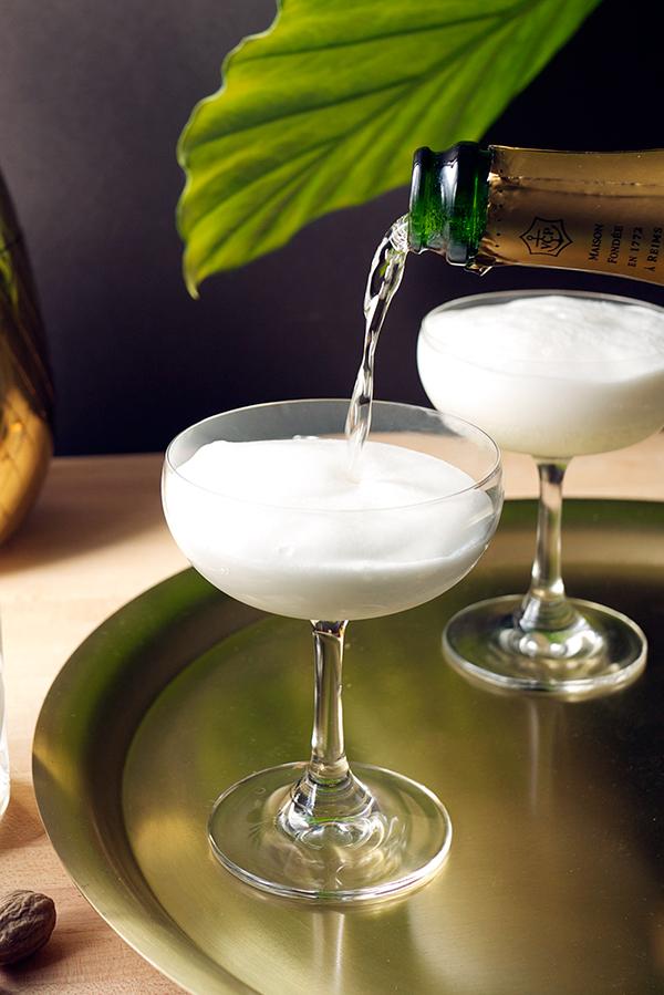 The Foaming Pineapple Cocktail // stirandstrain.com