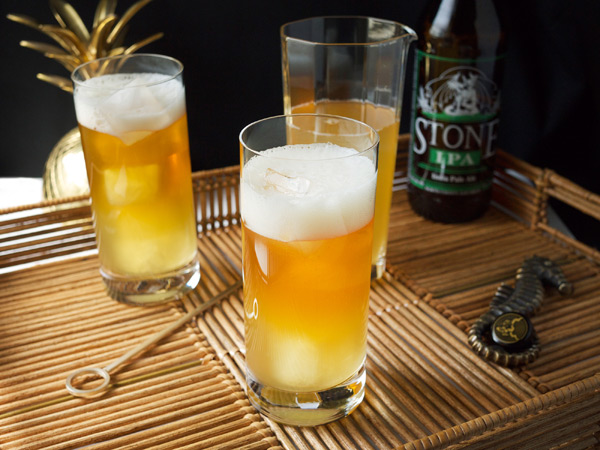 The Pineapple Hop Cocktail // stirandstrain.com