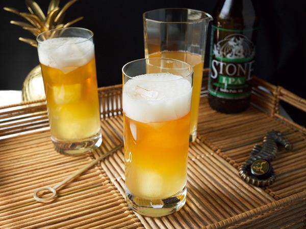 The Pineapple Hop Cocktail // stirandstrain.com