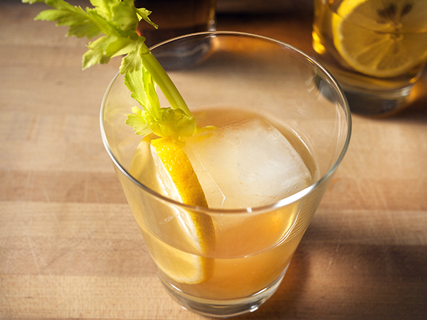 Gunpowder Gin Punch Cocktail // stirandstrain.com