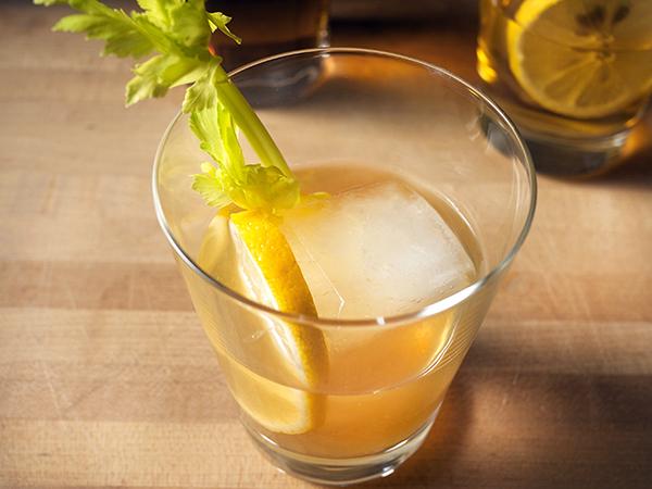 Gunpowder Gin Punch Cocktail // stirandstrain.com