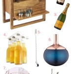 Small Space Home Bar