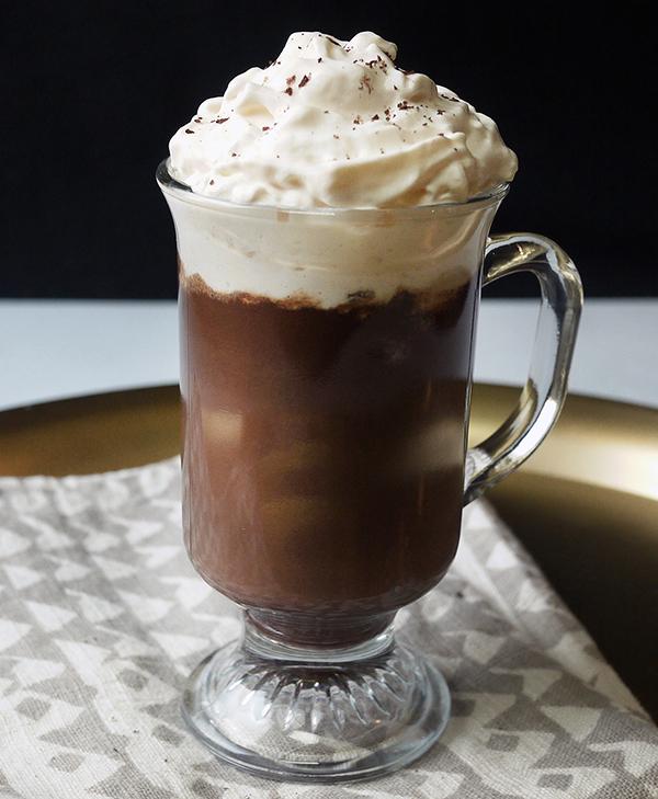 Amaro Hot Chocolate // stirandstrain.com