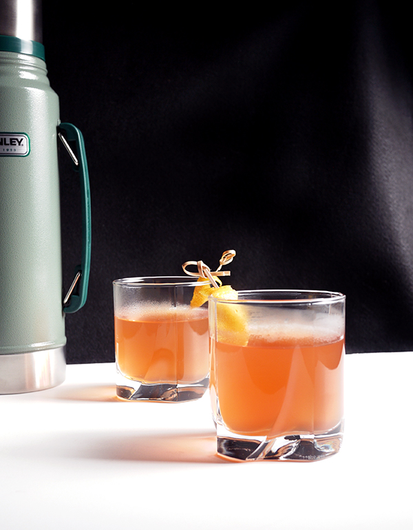 Hot Ward Eight Cocktails // stirandstrain.com
