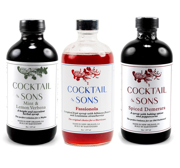 Giveaway: Cocktail & Sons Syrups // stirandstrain.com