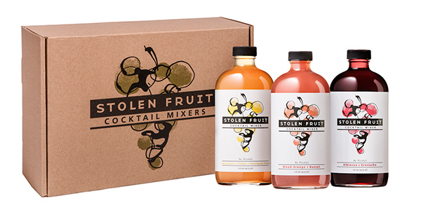 Giveaway: Stolen Fruit Cocktail Mixers and Cocktail Books // stirandstrain.com
