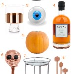 Halloween & Autumn Bar Cart Styling