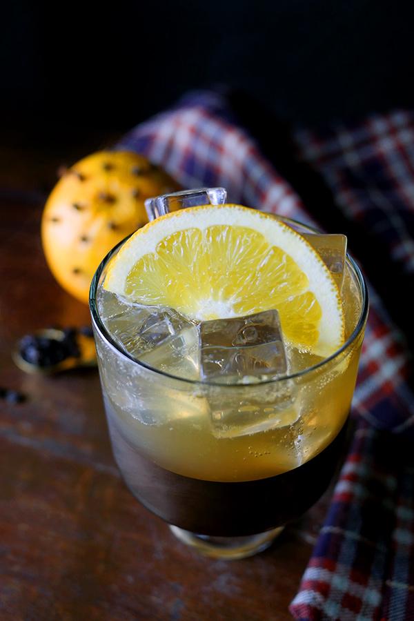Fruitcake Cocktail with Exotico Tequila // stirandstrain.com