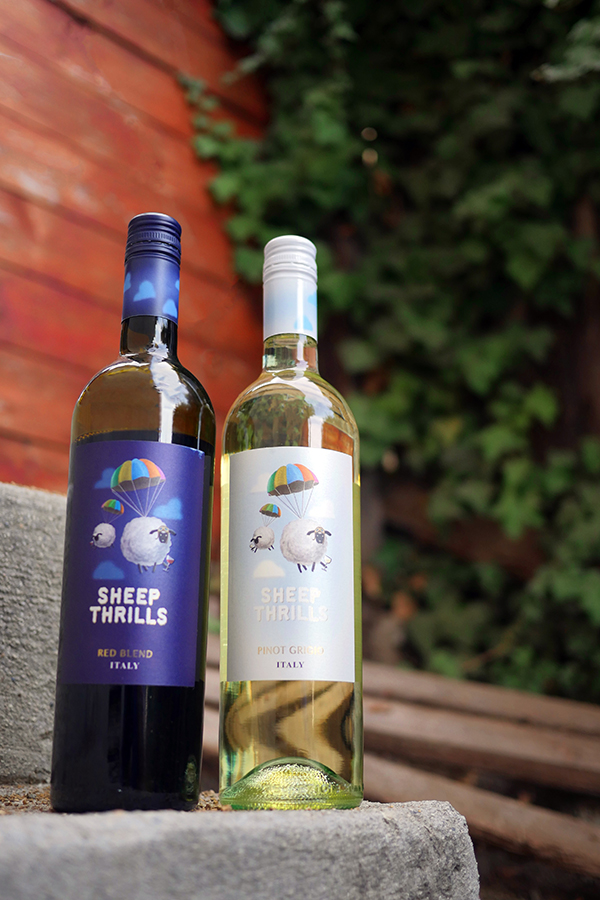 Sheep Thrills Wine Scavenger Hunt // stirandstrain.com