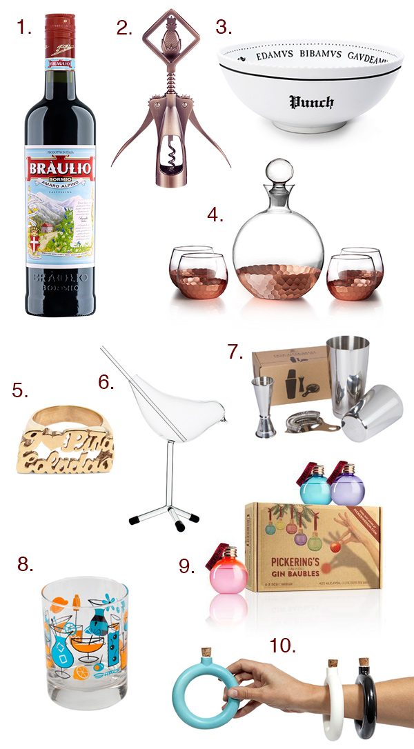 Gift Guide: More Boozy Gifts $50 and Under // stirandstrain.com