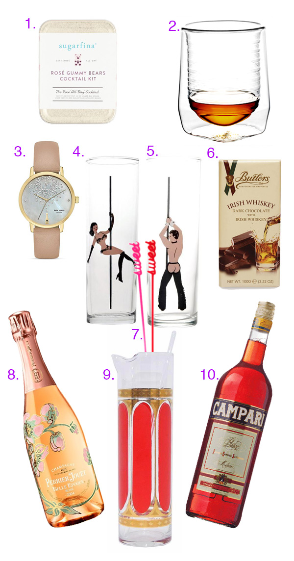 Gift Guide: A sweet, boozy Valentine's Day // stirandstrain.com