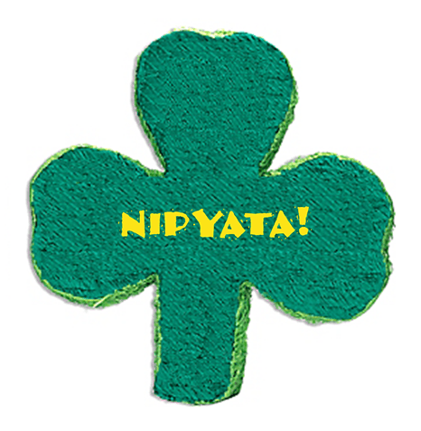Giveaway // NIPYATA ShamRock It Boozy Piñata on stirandstrain.com