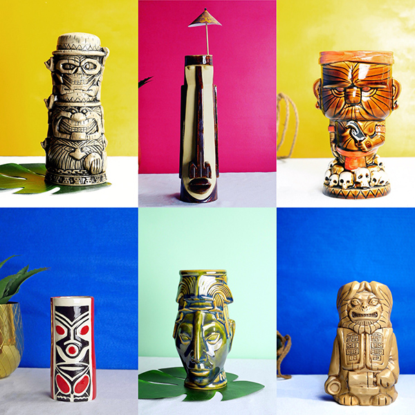 Stir and Strain's Tiki Mug Mondays Collection // stirandstrain.com
