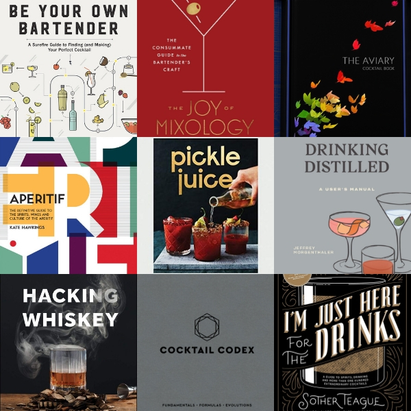 Holiday Gift Guide: Boozy Books // stirandstrain.com